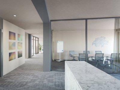 160 m2 Büro 5. OG