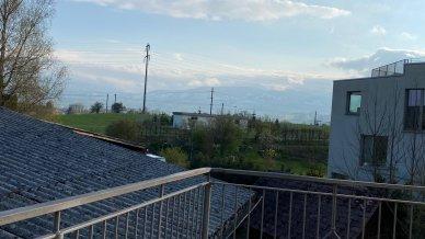 Tolle, riesige Terrasse mit schöner Stimmung