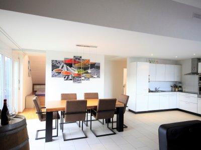 Wohn- Essbereich / Küche (anderes Objekt, jedoch gleicher Grundriss)