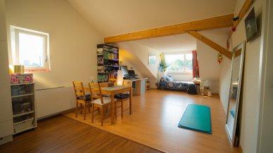 Heller Wohnraum mit schöner Aussicht auf den Üetliberg und den Zürichberg