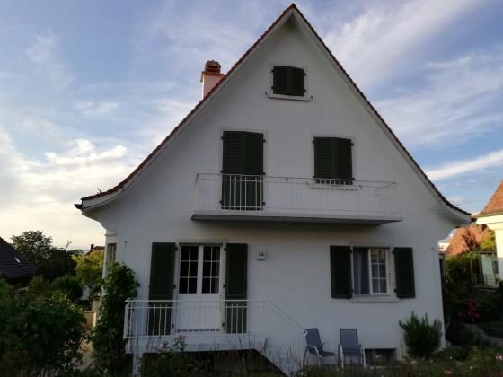 Südsicht des Hauses