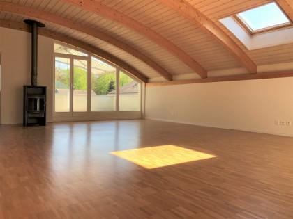 Wohnraum mit Dachterrasse