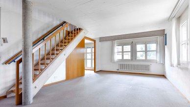 Unterer Stock eines Appartements