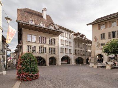 Das Haus zum Ochsen - Hohengasse 35 in Burgdorf