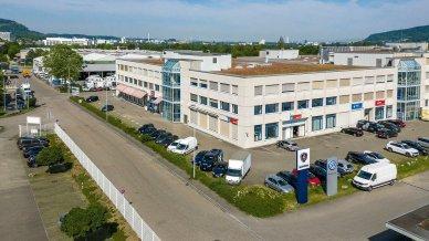 Industriegebiet Netziboden in Pratteln