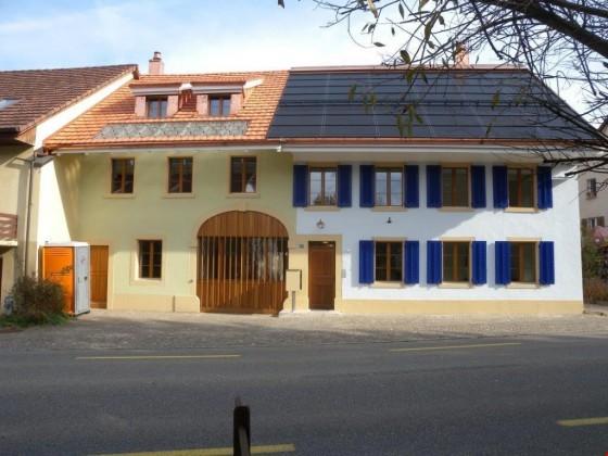 Mehrfamilienhaus nach umfassender Sanierung