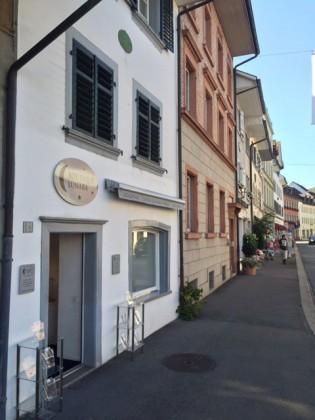 Hübsches Strassenbild im Städtchen von Bad Zurzach