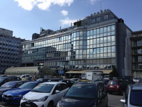 **Ausgebaute Bürofläche am Bahnhof Aarau**