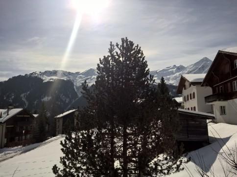 2.5-Zimmer-Gartenwohnung mit Aussicht in Lumbrein, Val Lumnezia