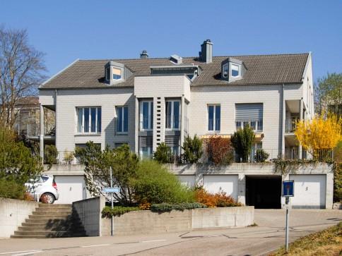 3.5 Zi Wohnung 90 m2 - Einfamilienhausfeeling mit Weit- und Rheinsicht