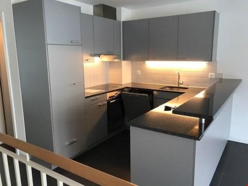 4.5-Zimmer-Duplexwohnung mit Balkon