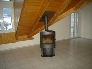 5.5 Zi. ca.160 m2 gemütlichw helle Wohnung mit Cheminee