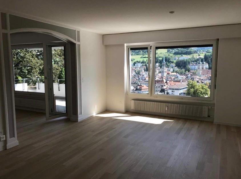 5 zimmerwohnung mit blick auf st gallen immoscout24. Black Bedroom Furniture Sets. Home Design Ideas