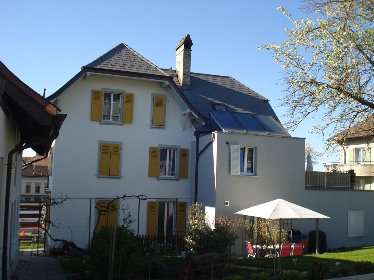 Appartement 4 5p avec jardin dans maison r nov e immoscout24 for Maison renovee