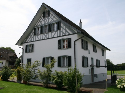 Dachwohnung in altem Riegelhaus