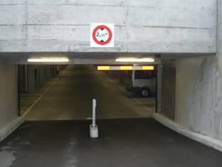 Einstellhalle / garage souterrain Robert-Walser-Platz