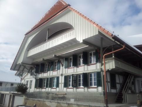 Erstvermietung in umgebautem Bauernhaus im Dörfli Buch/Gümmenen