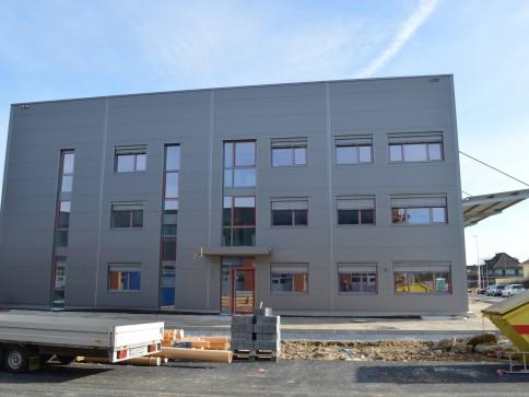 Erstvermietung neu erstellte Büroräume