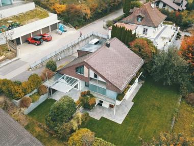 Freistehndes Einfamilienhaus: Grosszügig, ruhig und bezugsbereit!