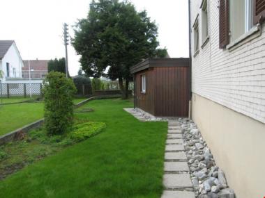 Geräumige 4.5 Zi.-Wohnung mit grossem Gemeinschaftsgarten