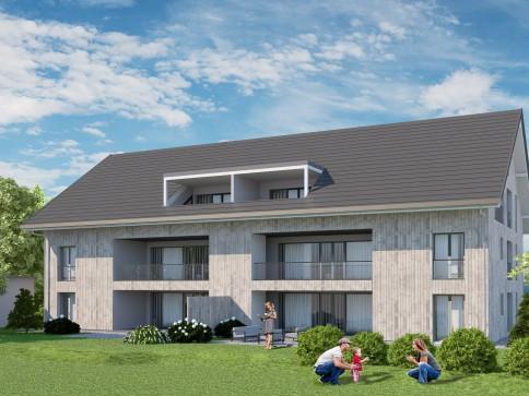 Grosse, moderne Gartenwohnung mit 195 m2 Privatland