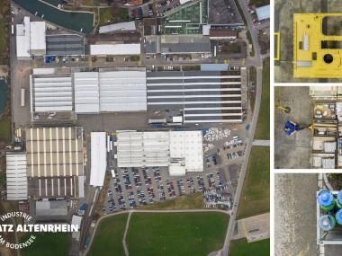 Grosszügige Flächen für Produktion und Logistik (ab 2000 m2)