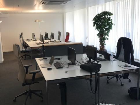 Helles, top-modernes Büro mit attraktiven Zusatzleistungen