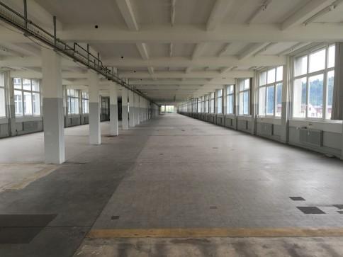 Locaux, ateliers de 2600 m2 divisibles à louer à Sainte-Croix