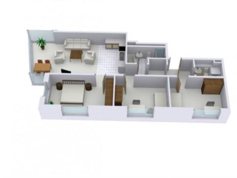 moderne 4.5-Zimmerwohnung im Dorfkern