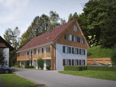 Neubau in Zell - 3.5 Zimmer-Maisonettewohnung an idyllischer Lage
