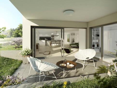 Neue 5.5-Zimmer-Eigentumswohnungen, mit grossem Gartenanteil