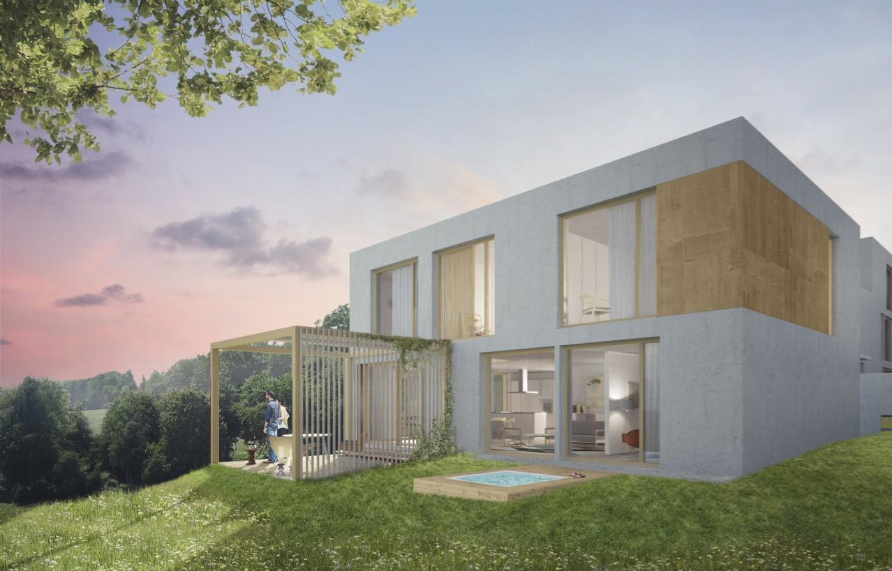 Parc soleil nachhaltige moderne bauweise an for Moderne bauweise