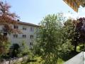 Renovierte 1-ZW mit neuer Küche / Balkon ins Grüne