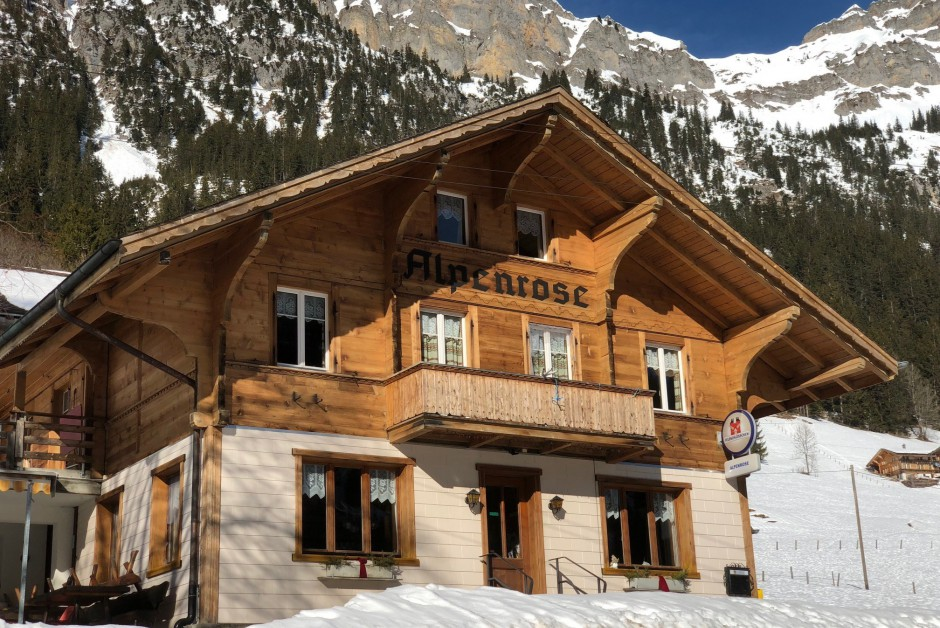 Restaurant mit Gästezimmer Chalet Alpenrose ImmoScout24