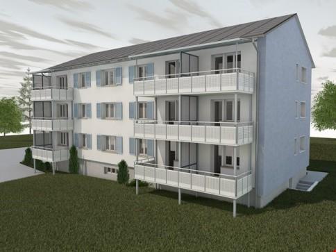 Sanierte 2-Zimmerwohnung mit Balkon, 1. OG