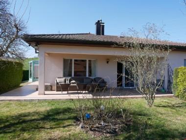 Savigny, à 10 min de Lausanne, maison individuelle 5.5 pièces à vendre