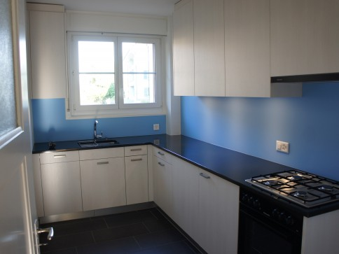 Schöne im 2015 renovierte Wohnung mit Küche für Geniesser
