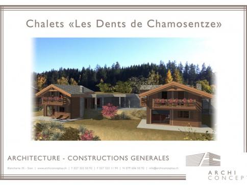 VOTRE CHALET EN RESIDENCE SECONDAIRE - AVEC AUTORISATION DE CONSTRUIRE