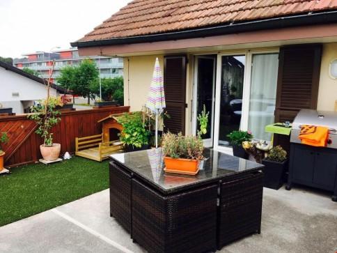 zentral gelegene 3.5 Zimmer Wohnung mit grosser Terrasse in Aarau Rohr