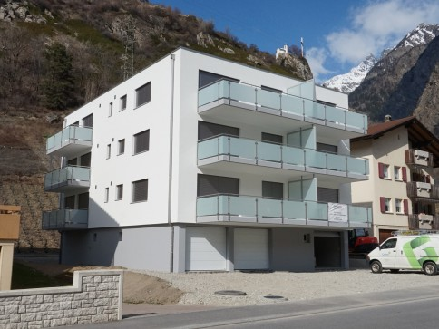 3.5 Zimmer Wohnung in Gampel - Neubau mit toller Aussicht