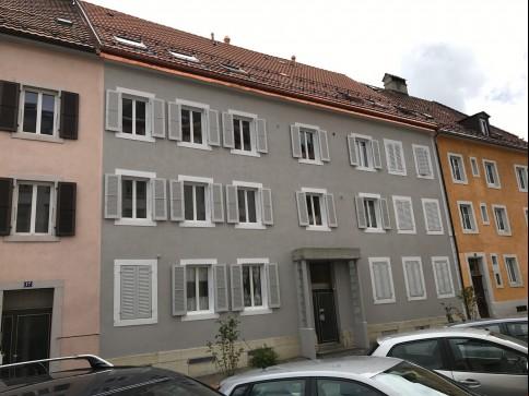4 pièces au 2ème étage, Rue du Progrès 19, 2300 La Chaux-de-Fonds