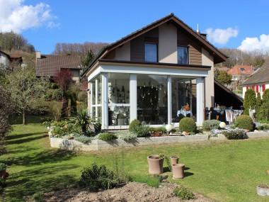 5.5-Zimmer-Einfamilienhaus mit Wintergarten