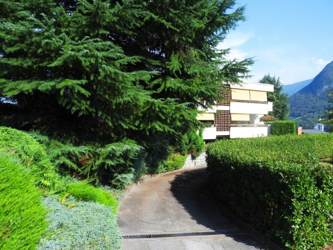 Appartamento immerso nel verde a Gentilino