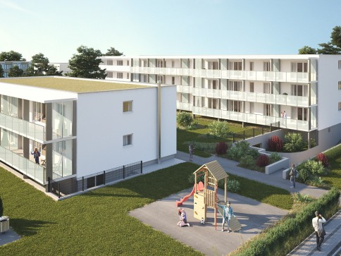 Erstvermietung - Topmoderne Wohnung mit grossem Balkon 31m2