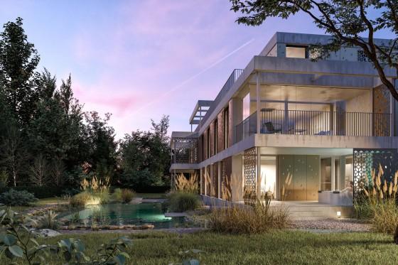 5.5 Zimmer Wohnung mit direktem Gartenzugang und Wellnessbereich