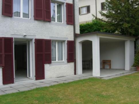 Gemütliche Singlewohnung mit grossem Garten!