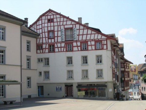 Heimelige Wohnung mitten in der Wiler Altstadt