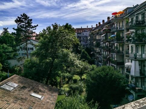 Helle 3.5 Zi. Wg. mit Balkon, 2. OG, mitten in Basel