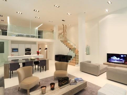 Luxus, Design, Freiraum und Qualität: Ein Wohnsitz für Schöngeiste