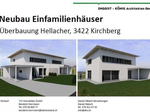 Neubau Einfamilienhäuser an top Lage in Kirchberg